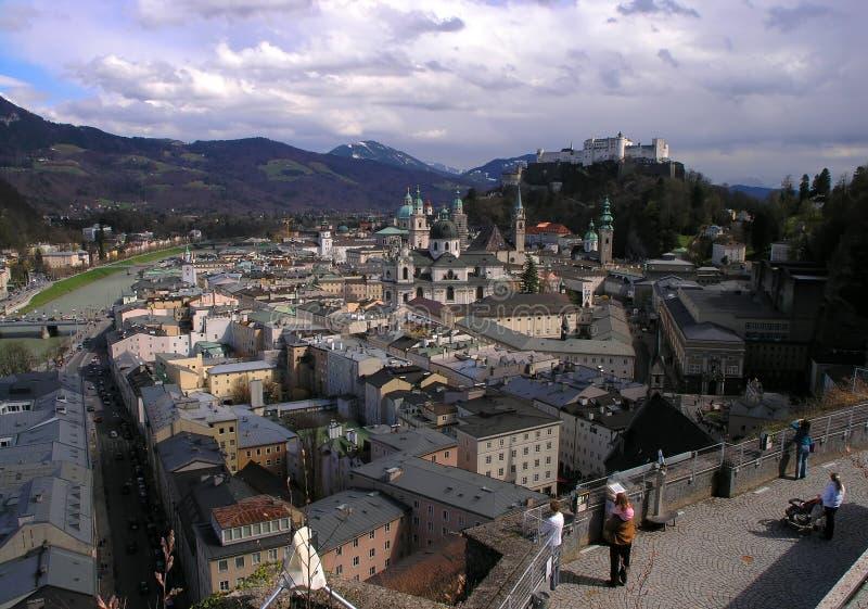 Salzbourg image libre de droits