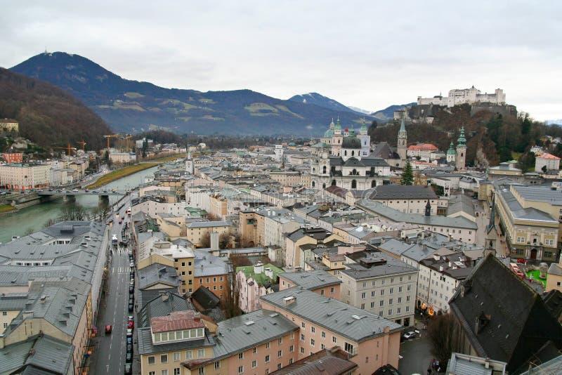 Salzburg, Österreich lizenzfreie stockfotos