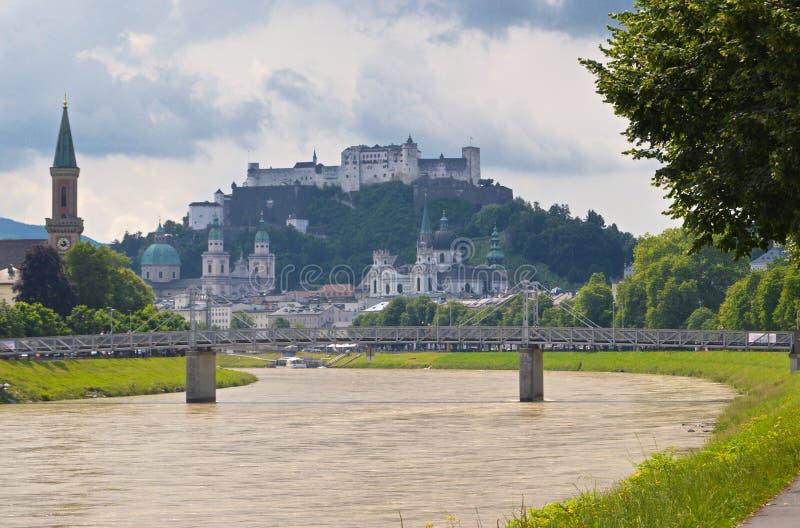 Salzburg, Österreich stockfoto