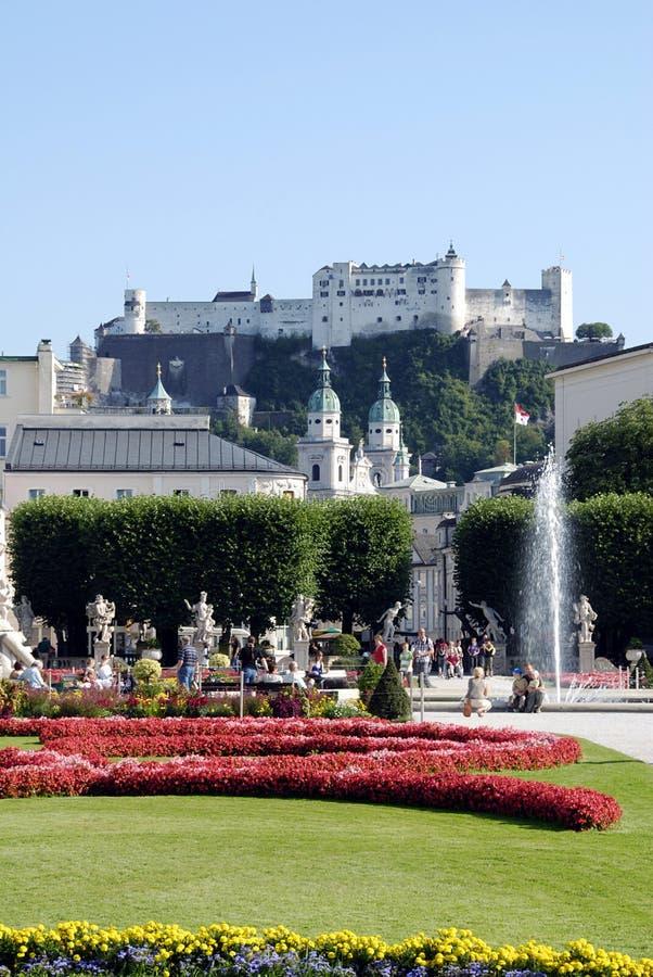 salzburg royaltyfria foton