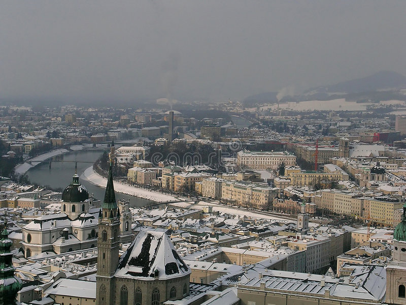 Salzburg royalty-vrije stock afbeelding