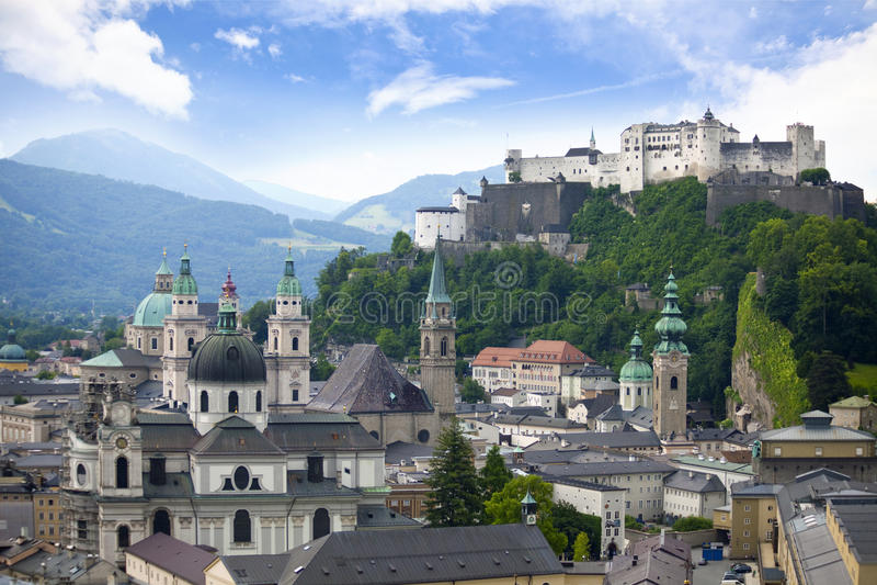 salzburg стоковые изображения rf