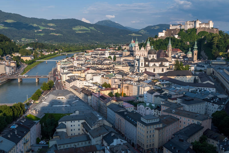 Salzburg obrazy stock