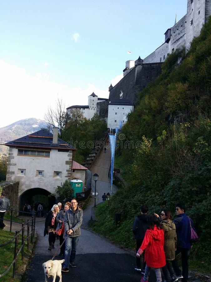 Salzburg stock afbeelding