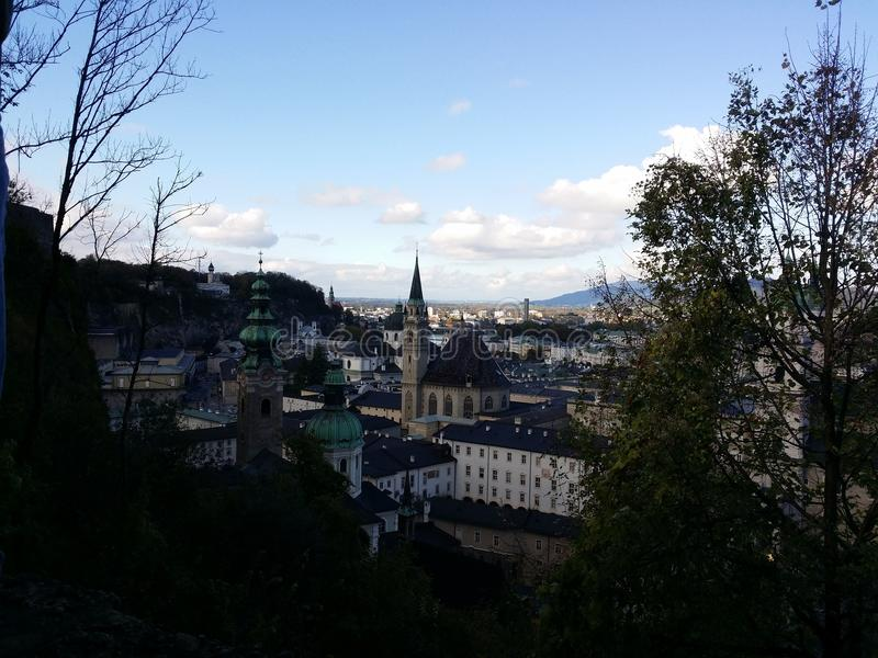 Salzburg fotografia de stock