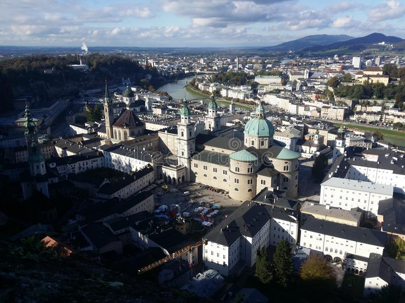 Salzburg royalty-vrije stock afbeeldingen