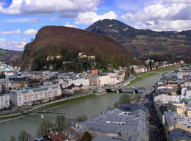Salzburg lizenzfreies stockbild