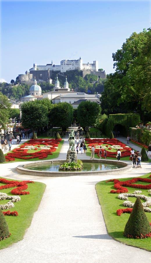 Salzburg lizenzfreie stockfotos
