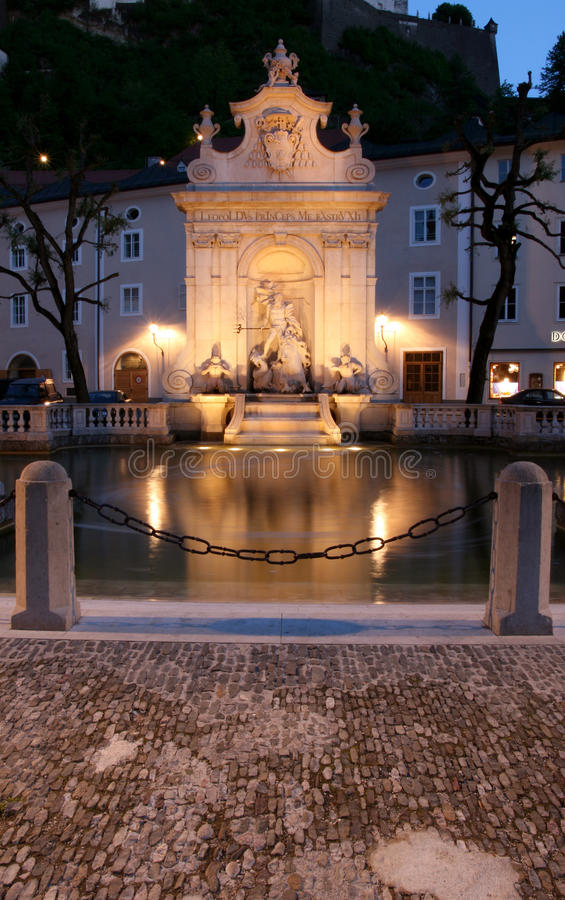 Download Salzburg stock photo. Image of public, altstadt, architecture - 9455280