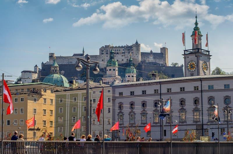 Salzburg, Austria royalty free stock photos