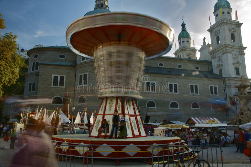 Salzburg Carnaval royalty-vrije stock afbeelding