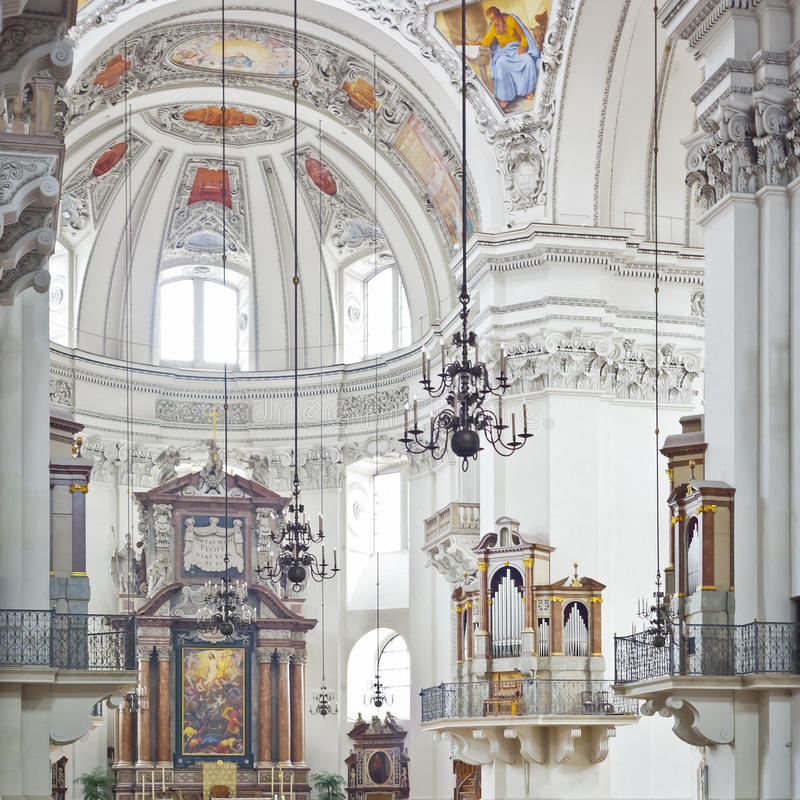 Download Salzburg dom stock photo. Image of famous, basilica, detail - 20324572