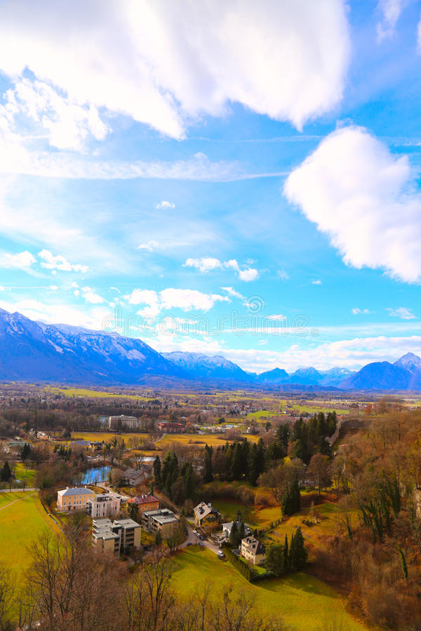 Salzburg em Áustria imagens de stock
