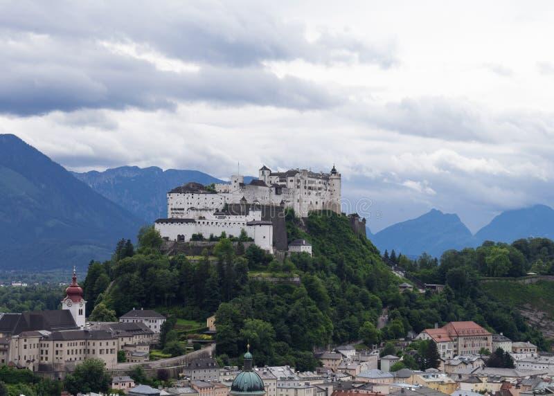 Salzburg hermosa en Austria fotografía de archivo