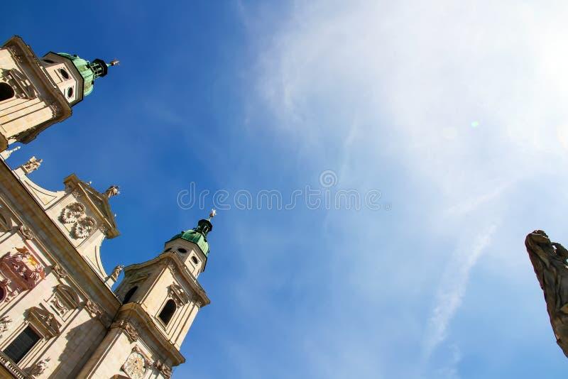 Download Salzburg katedra obraz stock. Obraz złożonej z powierzchowność - 57652129