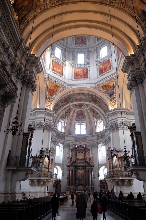 Salzburg katedra zdjęcia stock