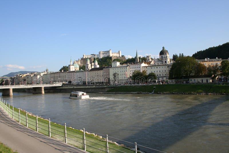 Salzburg krajobrazu royalty ilustracja