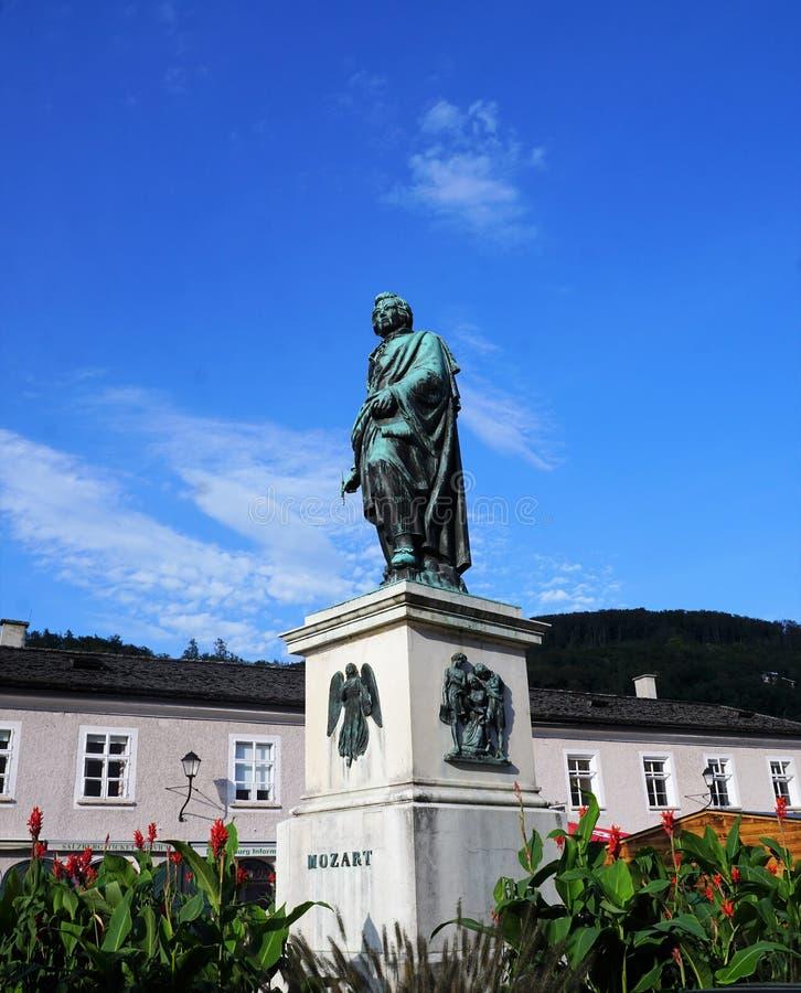 Salzburg miasto w Austria zdjęcie stock