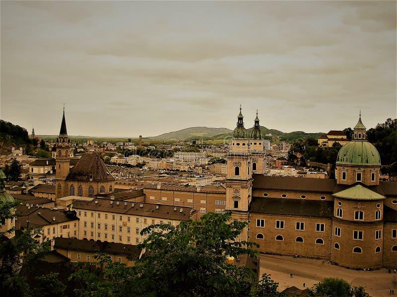 Salzburg misterioso imagem de stock royalty free