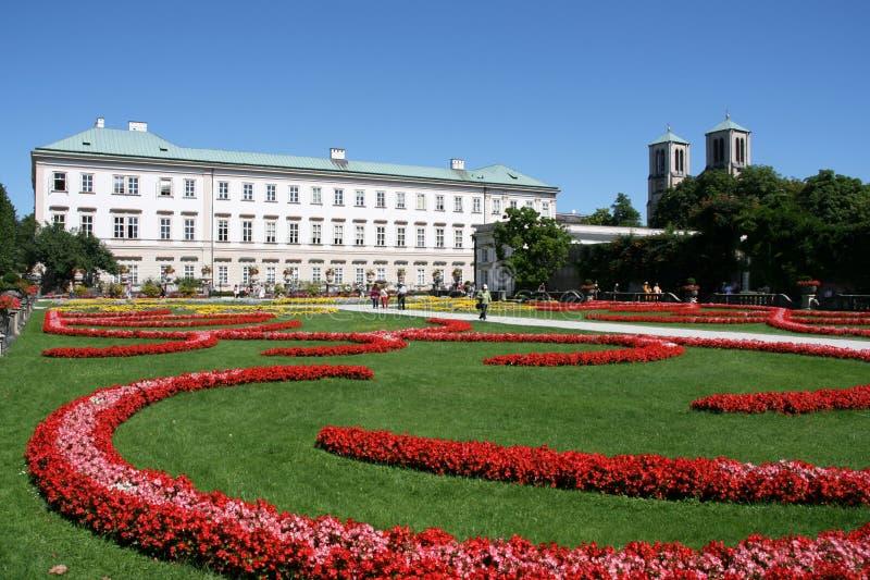 Salzburg Palace stock photo