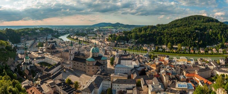 Salzburg, panorama zdjęcie stock