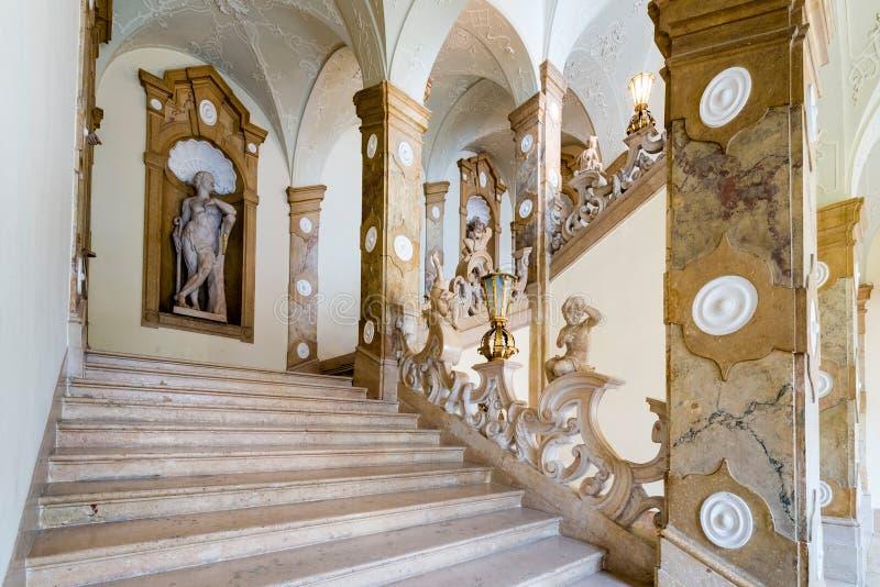 Salzburg Residenz palace in Salzburg, Austria. stock photography