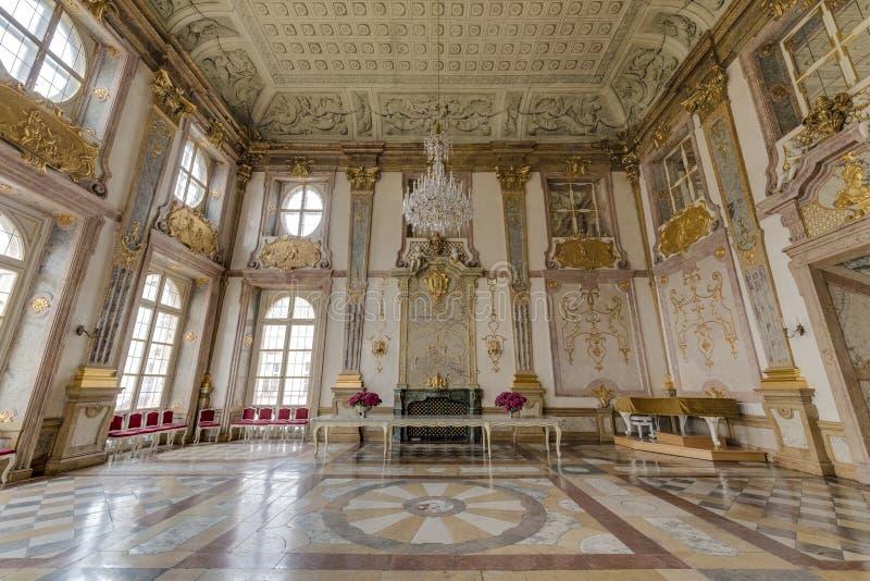 Salzburg Residenz palace in Salzburg, Austria. stock photo