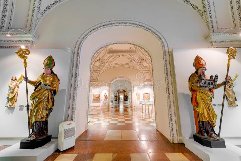 Salzburg Residenz palace in Salzburg, Austria. royalty free stock images