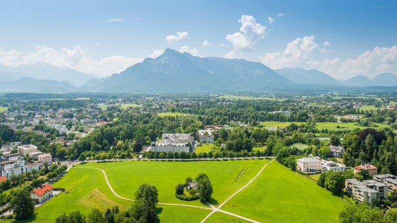 Salzburger ziemia, Austria zdjęcie royalty free
