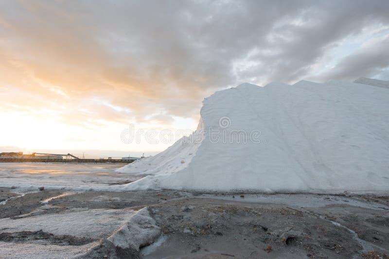 Salzig herein an der spanischen Küste stockfotografie