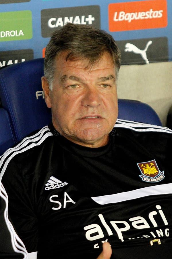Sam Allardyce Coach Of West Ham Editorial Stock Image