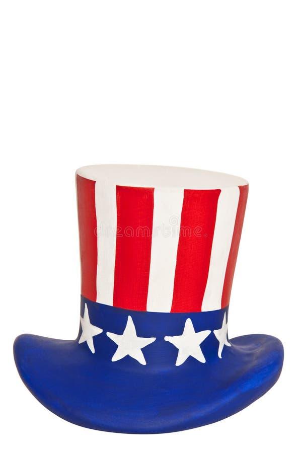 sam ceramiczny kapeluszowy wuj obraz stock