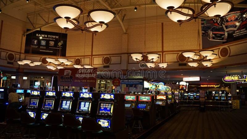 Sam Grodzki hotel & Uprawiać hazard Hall w Las Vegas, Nevada obraz royalty free