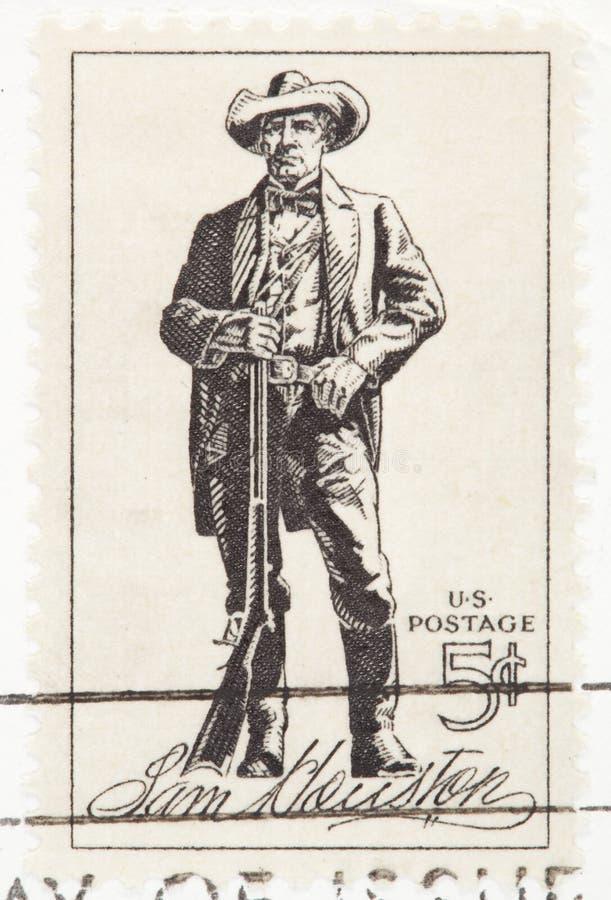 Sam Houston Stamp royalty free stock photos