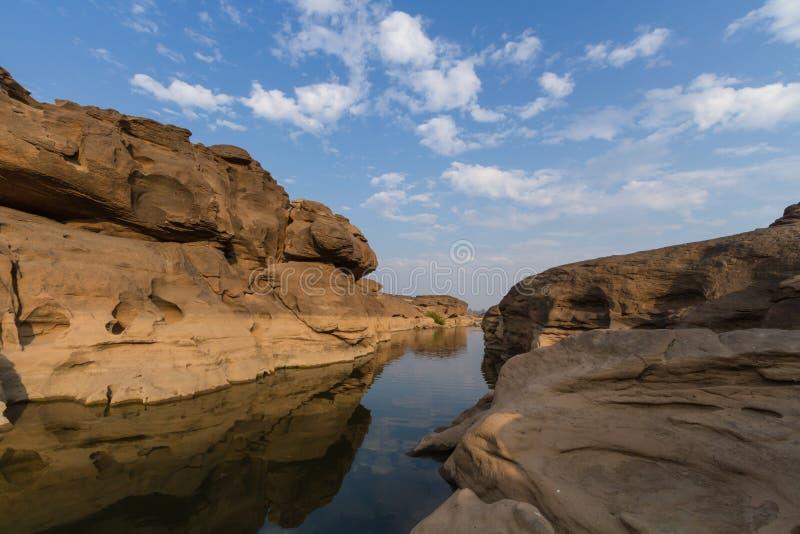 Sam Pan Bok Canyon photos stock