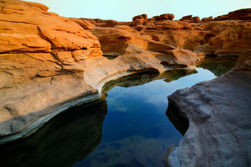 Sam-Pan-Bok Grand Canyon stock image