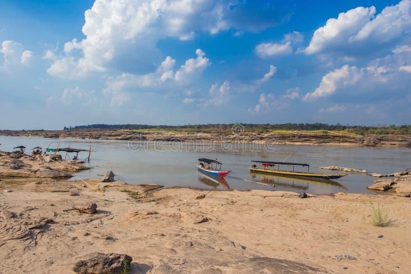 Sam Phan Bok in Thailand stock afbeeldingen
