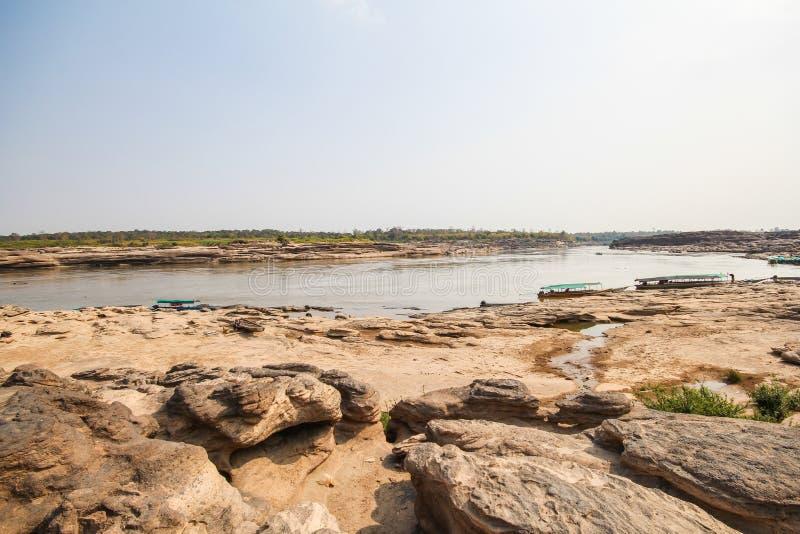 Sam Phan Boke, Ubon Ratchathani Tailandia immagine stock