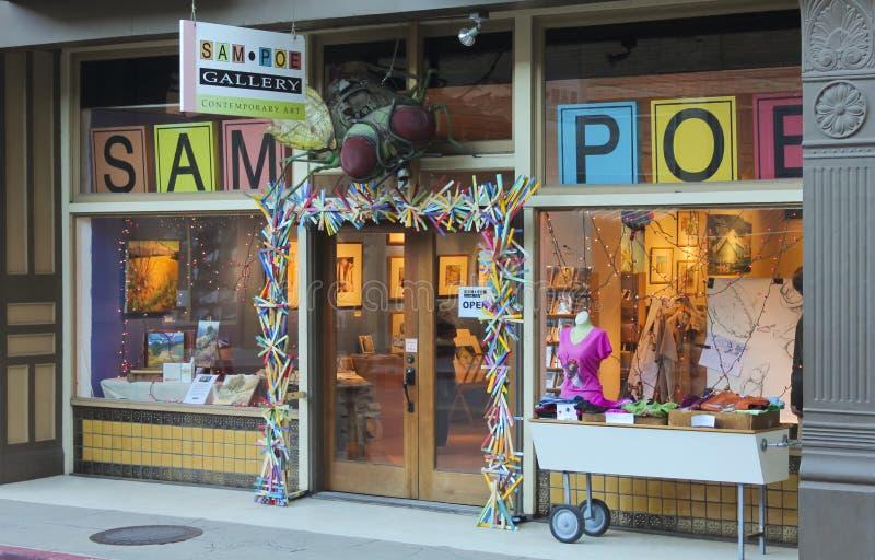 Sam Poe Gallery Shot, Bisbee, Arizona image stock
