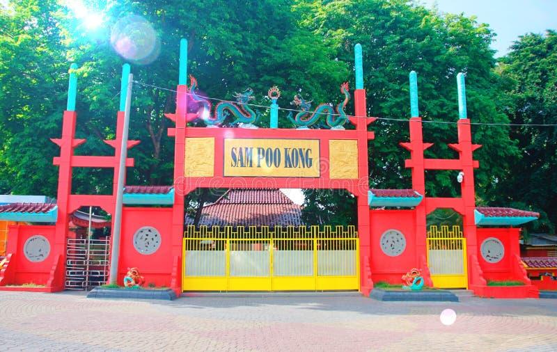 Sam poo Kong zdjęcia stock