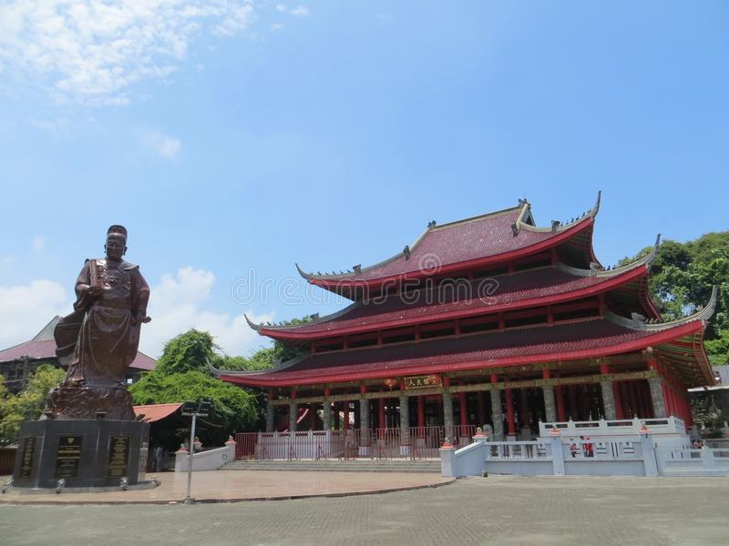 Sam poo kong świątynia w Semarang zdjęcia stock