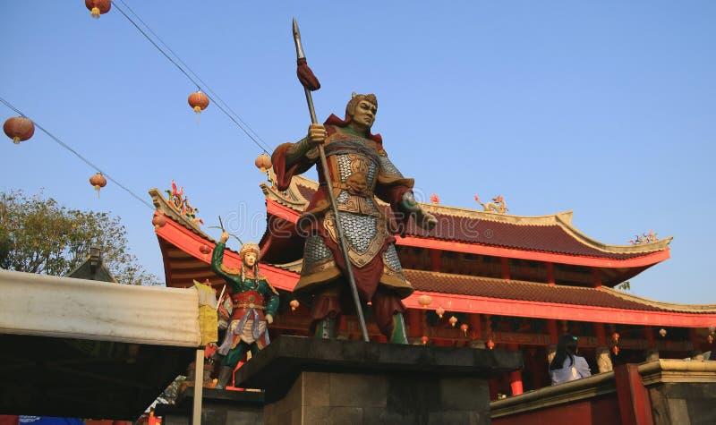 SAM-poo kong tempel royalty-vrije stock afbeelding