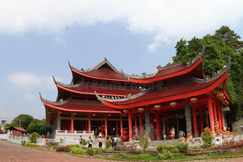 SAM-poo kong tempel stock foto