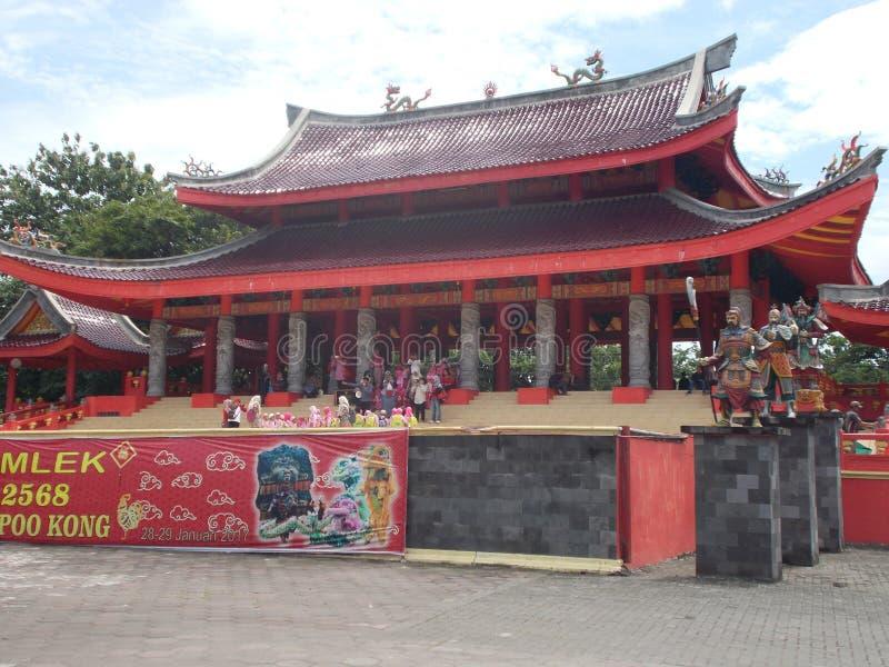 SAM-poo kong tempel Semarang royalty-vrije stock afbeeldingen