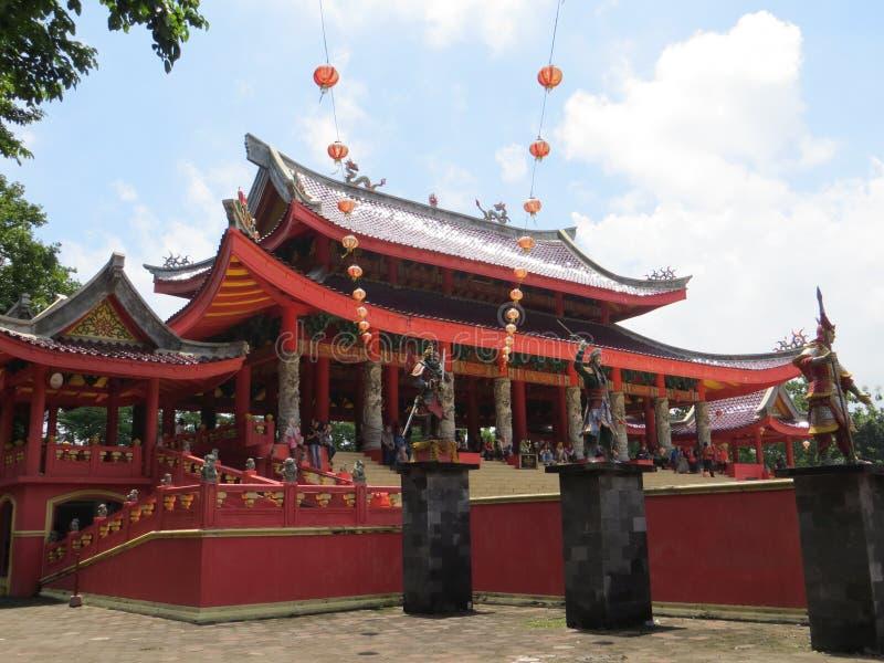 SAM-poo kong tempel in Semarang stock fotografie