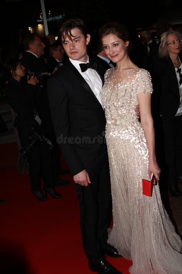 Sam Riley ed Alexandra Maria Lara immagine stock libera da diritti