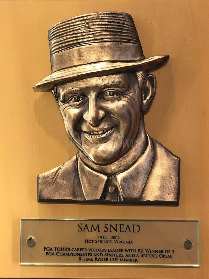 Sam Snead immagini stock