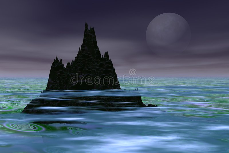 sama góra ilustracji