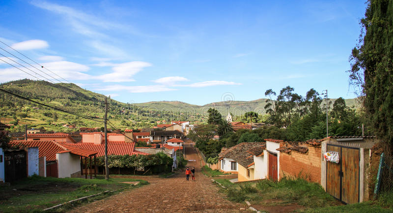 Samaipata, Santa Cruz, Bolivië stock foto's