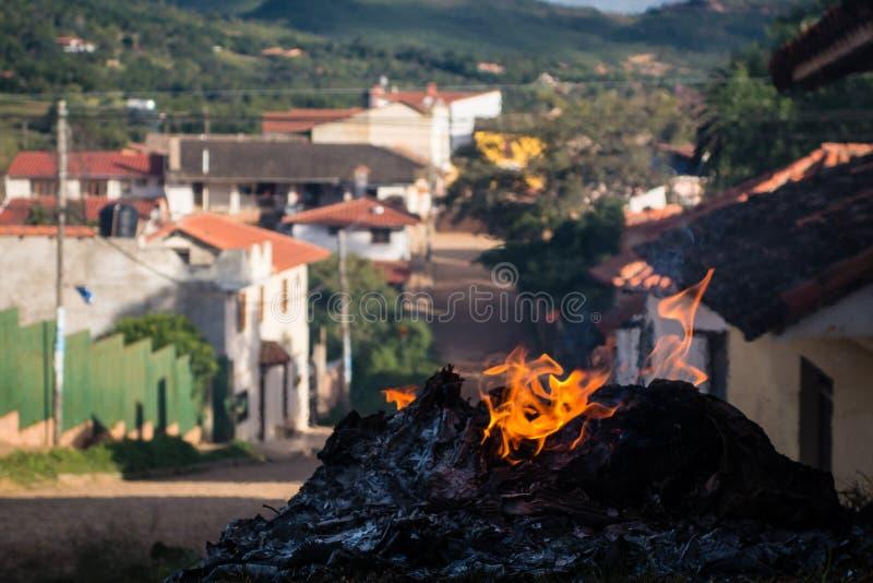 Samaipata Trash Fire Free Public Domain Cc0 Image